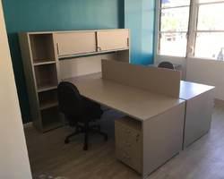 Ensemble de 2 bureaux avec rangement - Toulon