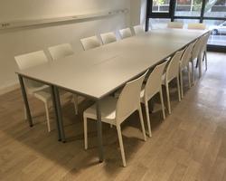 Tables et chaises pour centre de formation la Ciotat