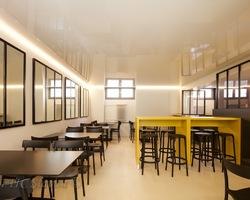 Aménagement caféteria lycée - Nice
