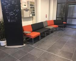 Installation de fauteuils accueil - Aix-en-Provence